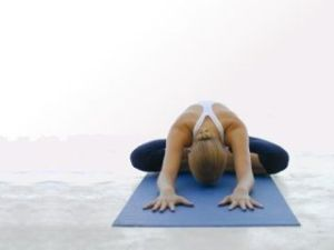 Yin-Yoga pose
